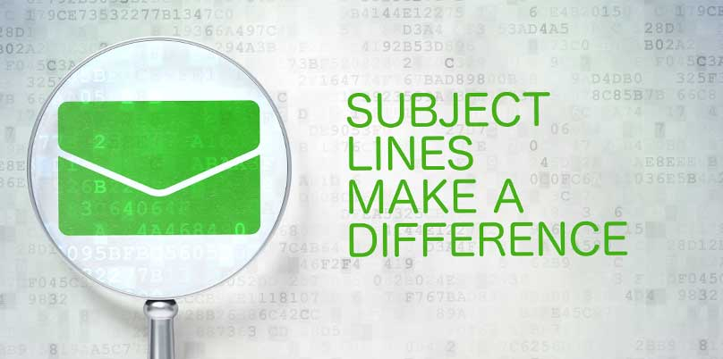 Make Your Subject Lines Effective